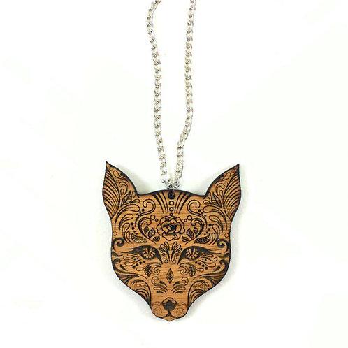 Sugar Wolf Necklace