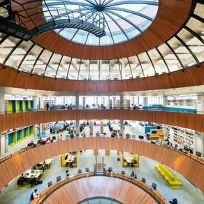 WUR Forum gebouw