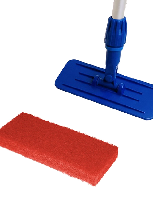 Doodlebugsysteem met steel en rode pads