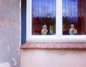 Feine Fensterdeko