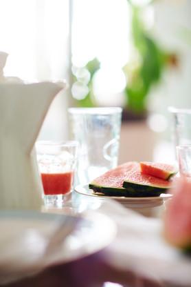 Bild mit Wassermelone
