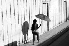 Sonnenschirm auf Ometepe