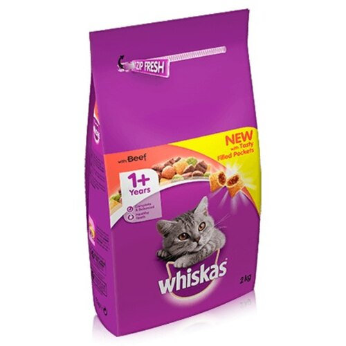 Whiskas Dry Beef 2kg