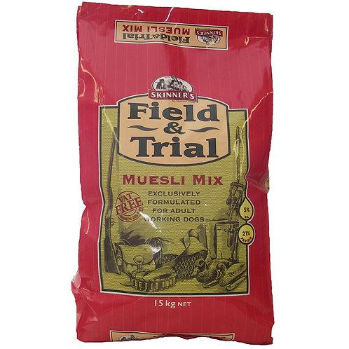 Skinners Field & Trial Muesli 15kg