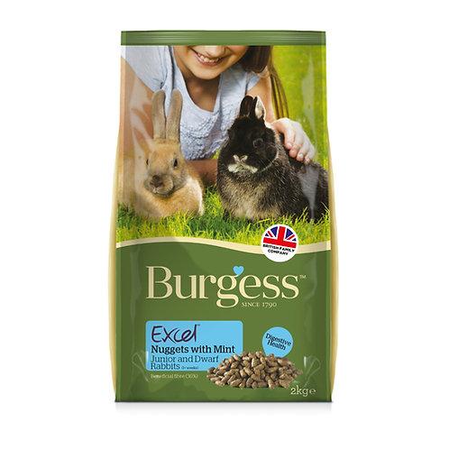 Burgesss Excel Rabbit Junior & Dwarf 10kg
