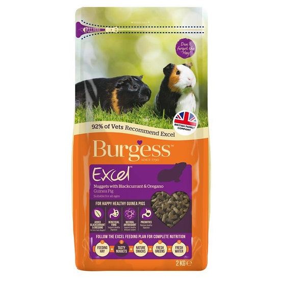 Burgess Excel Guinea Blackcurrent & Oregano 2kg