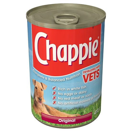 Chappie Dog Tin Original 12 x 412g