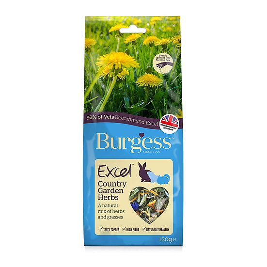 Burgess Excel Snack Country Garden Herbs 120g