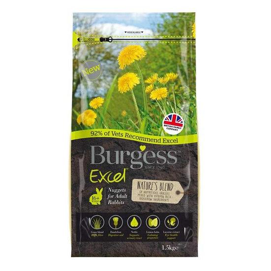 Burgess Excel Rabbit Natures Blend 1.5kg