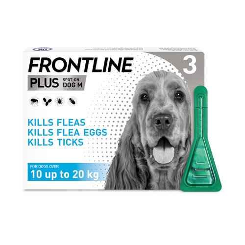 Frontline Plus Spot On for Medium Dogs
