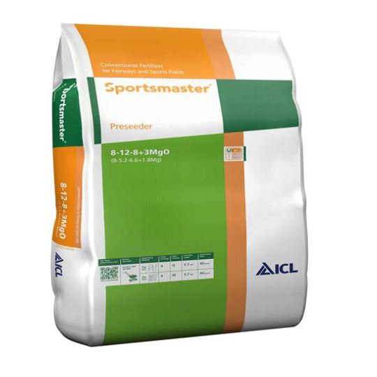 ICL Sportsmaster PS5 Pre-seeder 8-12-8 +3%Mg Fertiliser 25kg