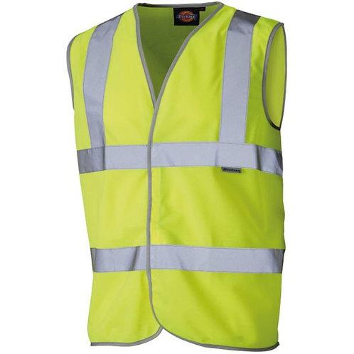 Hi-Viz Yellow Safety Waistcoat