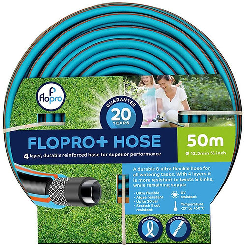 Flopro+ Semi-professional Hose Pipe (50m)