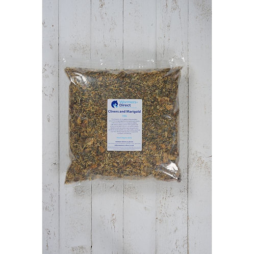 Clivers And Marigold 1kg Horse Herb Supplement