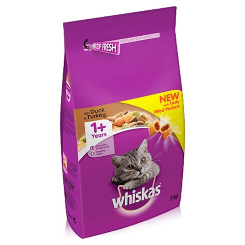 Whiskas Dry Duck and Turkey 2kg