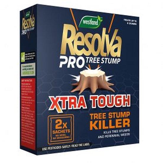 Resolva Pro Tree Stump Xtra Tough Sachets (2x 100ml)