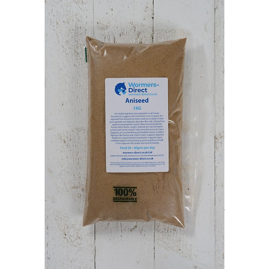 Aniseed Powder 1kg Horse Herb Supplement