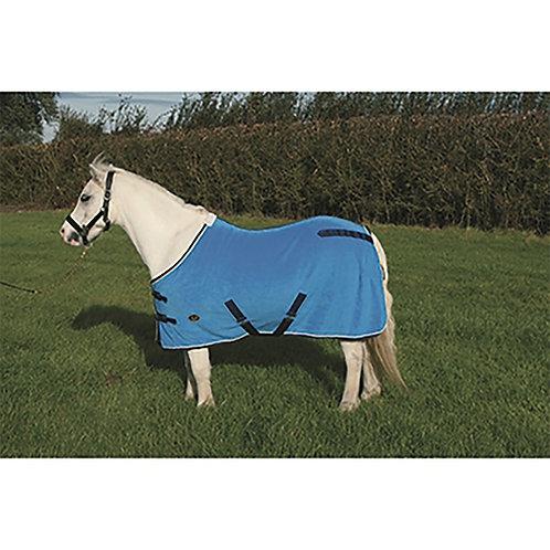 Mark Todd Pony Fleece Rug Purple/Grey