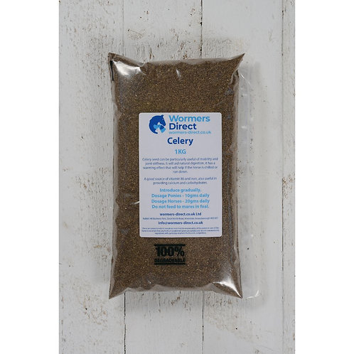 Celery Seed 1kg Horse Herb Supplement