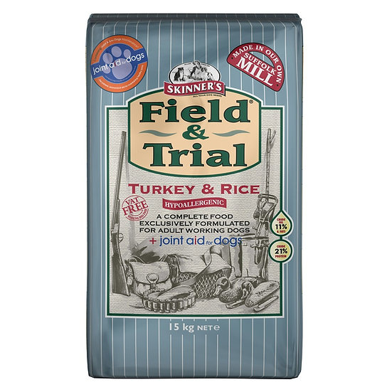Skinners Turkey & Rice with Joint Aid 15kg