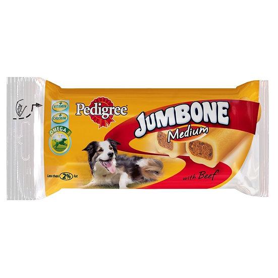 Pedigree Jumbone Chickens  & Rice Medium 2 Pack