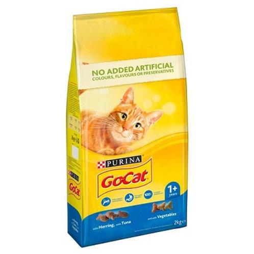 Go-Cat Comp Tuna - Herring and Veg 2kg