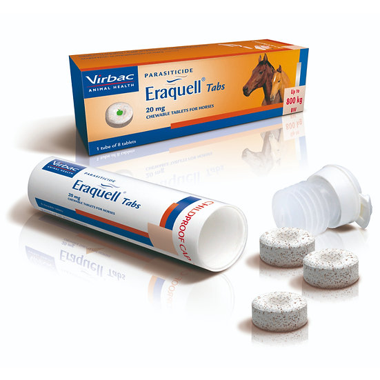 Eraquell Tablets Horse Wormer Pack of 8
