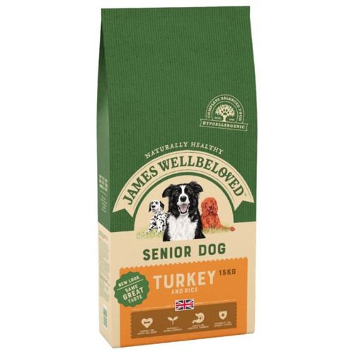 James Wellbeloved Cat Food Senior Turkey
