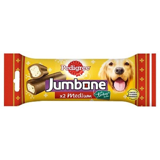 Pedigree Jumbone Turkey Medium 2 Pack
