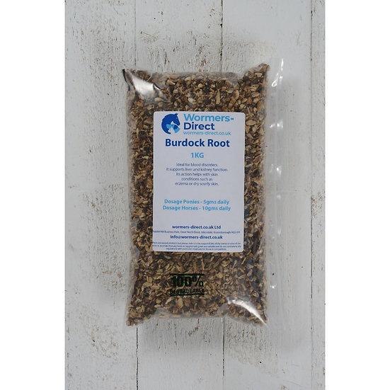 Burdock Root 1kg Horse Herb Supplement
