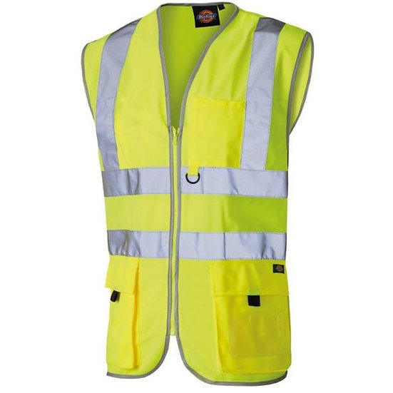 Hi- Vis Technical Safety Waistcoat