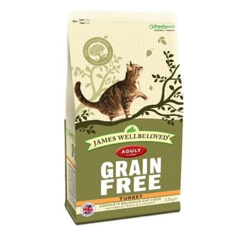 James Wellbeloved Adult Cat Food Turkey Cereal Free 1.5kg