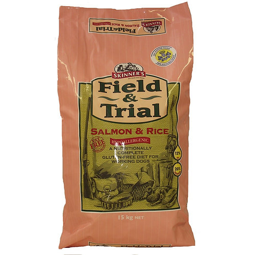 Skinners Field & Trial Salmon & Rice 15kg