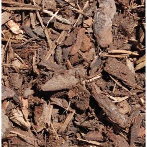 Spruce Ornamental Bark Chippings Mulch