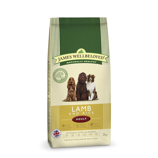 James Wellbeloved Dog Food Adult Lamb and Rice