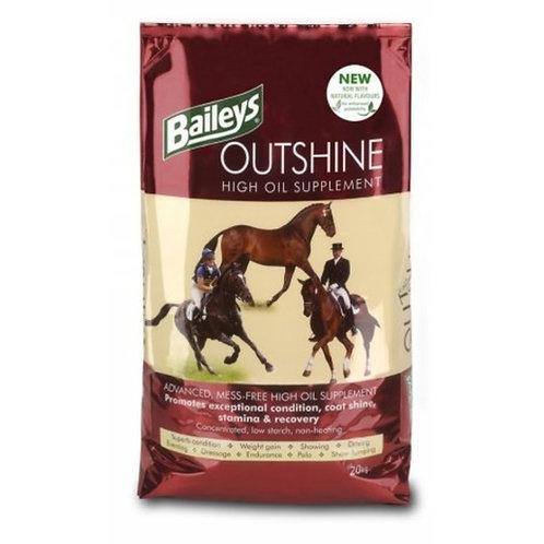 Baileys Outshine High Oil Supplement 20Kg