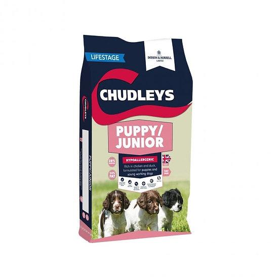 Chudleys Puppy/Junior Chicken & Duck Dog Food 12kg