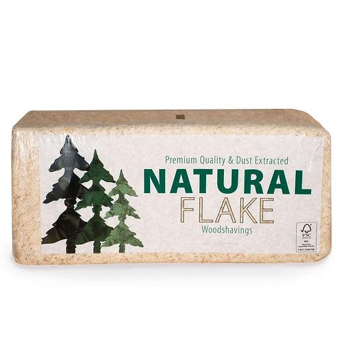 Natural Flake Shavings (20kg)