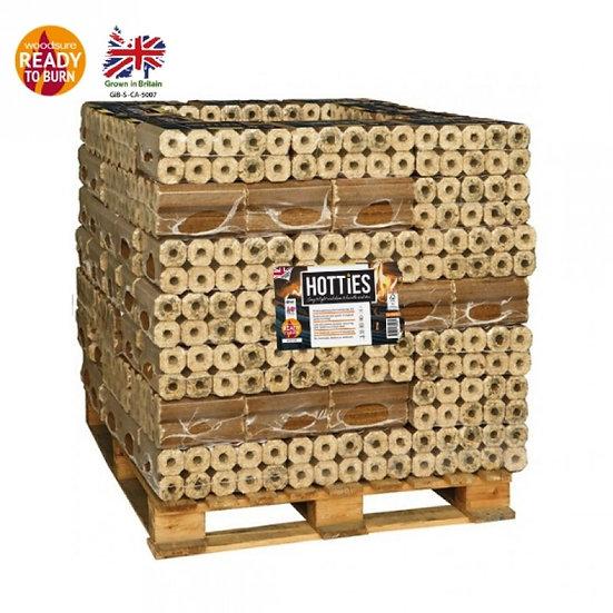 Hotties Heat Logs 1 Full Pallet (1000 Logs)