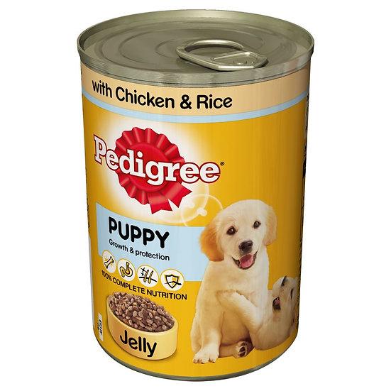 Pedigree Puppy Tins  6 x 400g