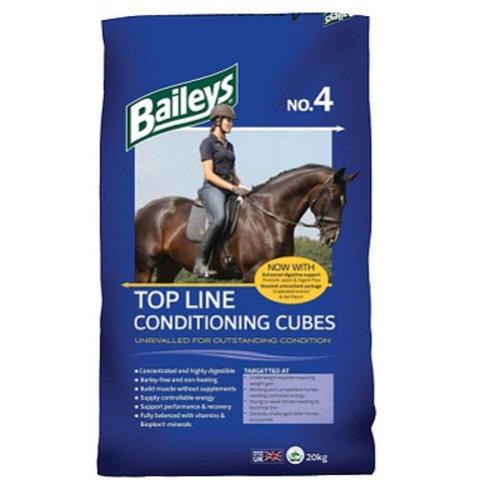 Baileys No 4 Topline Cubes 20Kg