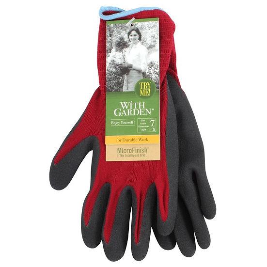 With Garden Gardening Gloves