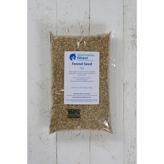 Fennel Seed 1kg Horse Herb Supplement