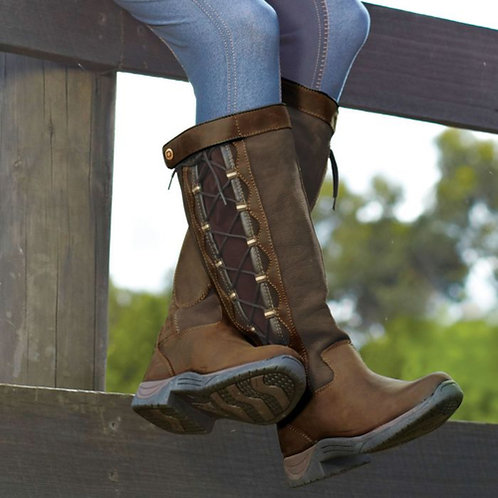 Dublin Pinnacle Boots Chocolate Brown