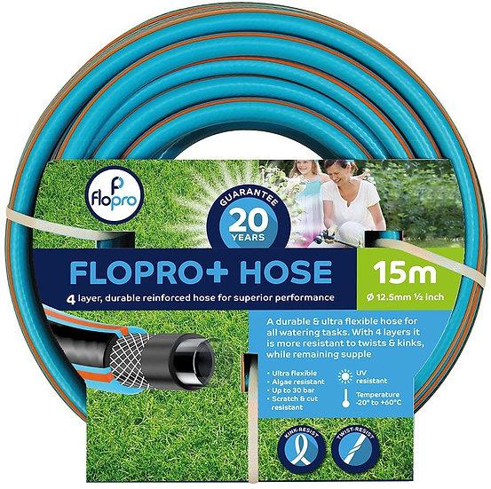 Flopro+ Semi-professional Hose Pipe (15m)