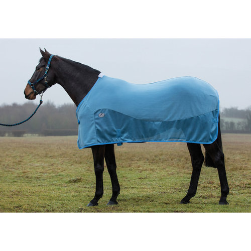 JHL Essential Fleece Mesh Rug Blue