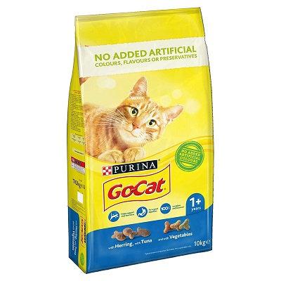 Go-Cat Comp Tuna Herring and Veg 10kg