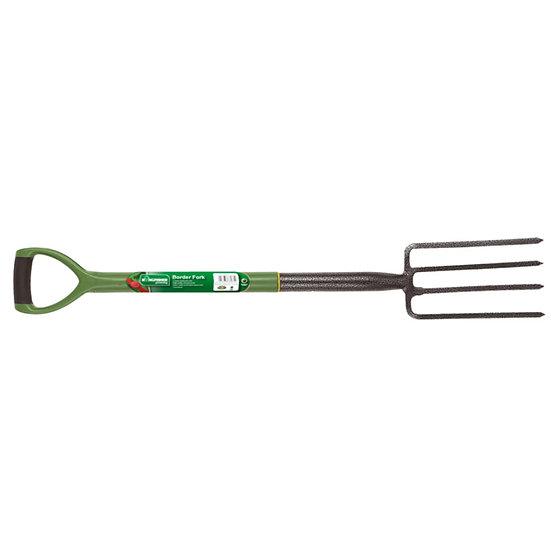Garden Pro Master Stainless Steel Border Fork