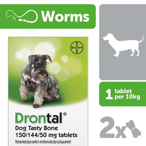 Drontal Dog Tasty Bone Tablets