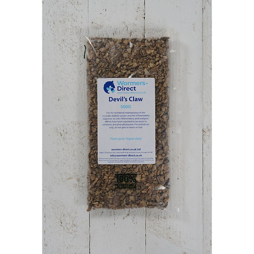 Devil's Claw Root 500g Horse Herb Supplement